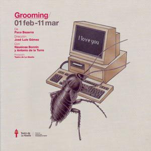 Cartel de la obra de teatro Grooming