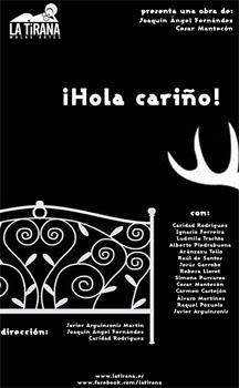 Cartel de la obra de teatro ¡Hola cariño!