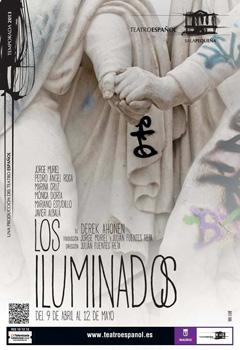 Cartel de la obra de teatro Los iluminados