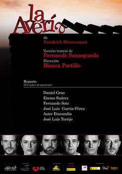 Cartel de la obra de teatro La avería