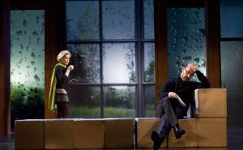 María Pujalte y Javier Cámara en una escena de Realidad