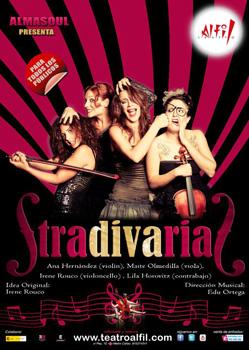 Cartel de la obra de teatro StradivariaS