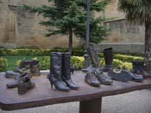 Estatua en Laguardia