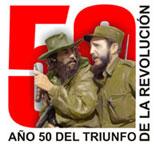 Cartel del 50 aniversario de la Revolución cubana